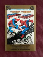 Superman vs Amazing Spider-Man Comic Size - VF+  - Bright White Pages - 1995