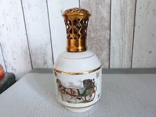 ANCIENNE LAMPE BERGER  CHEVAUX CALECHE