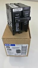 EATON/Cutler Hamer BR2150 Plug in, 1 Phase, 2 Poles 240v/150a NEW IN BOX UNUSED