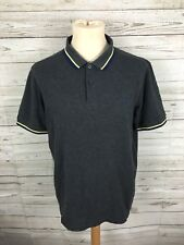Men's Fred Perry Polo Shirt - Size XL - Slim Fit - Grey - Great Condition