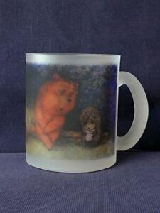 Hedgehog in the Fog film by Norstein/Norshteyn Coffee Mug (Hedgehog & Bear Cub)