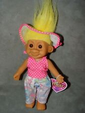 """Troll Doll 7"""" Russ Tracey Outdoor Sun Playtime with tag"""