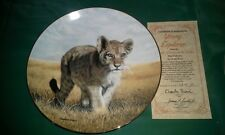 """(4) Hamilton """"Small Wonders of the Wild"""" Collector Plates by Charles Fracé"""