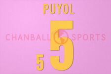 Puyol #5 Euro 2012 Italien Homekit Nameset Printing