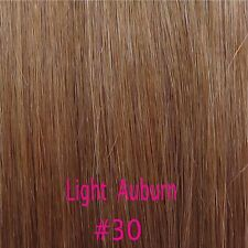 Remy Real Best 100% Human Hair Extension One Piece 3/4 Full Head Clip In US Q924