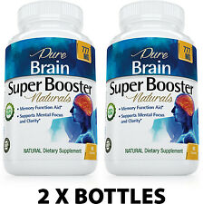 2 X Best Brain Super Booster - Supplement for Focus, Memory & Concentration