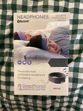 Sleep Phone Wireless (Bluetooth Headphone) Black LL Size [60 cm-63 cm] Fleece