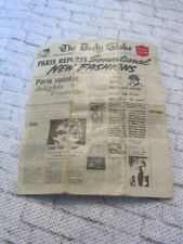 Sindy Doll 1960s Shopping in the Rain Newspaper