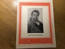 Klaviernoten Moussorgsky Ausgewählte Werke, Edition Schott 521