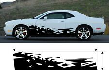 VINYL GRAPHIC FLAMES DECAL CAR TRUCK KIT CUSTOM SIZE COLOR VARIATION MT-237