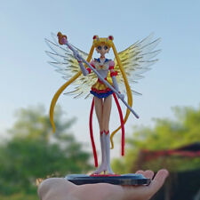 Anime Super Sailor Moon Usagi Tsukino 15CM/6inch Action Figure Toy With Wing