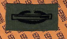 US Army CIB Combat Infantrymans Badge OD Qualification cloth 1st award patch C