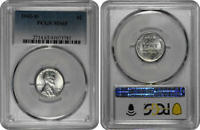 1943 D 1C Lincoln Steel Wheat Cent PCGS MS 65