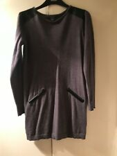 Grey And Black Jumper Dress Size 12