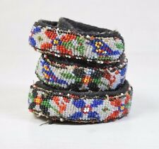 Traditional Collectible Antique Native North American Micro Beaded Handmade Belt