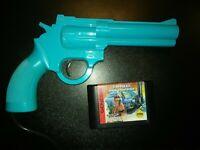 Lethal Enforcers Sega Genesis Justifier Gun Cleaned & Tested