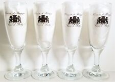 Cremant De Bourgogne Crystal Sparkling Wine/Champagne Glasses Beautiful Set of 4