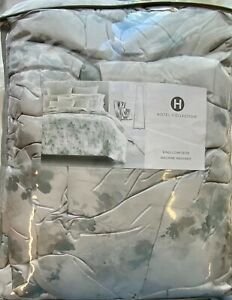 HOTEL COLLECTION MEADOW KING COMFORTER NIOP MSRP $420