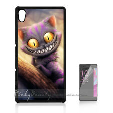 ( For Sony Z3 ) Back Case Cover P11126 Cheshire Cat