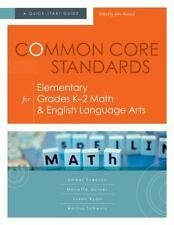 NEW Common Core Standards for Elementary Grades K- 2 Math and English Lang.....