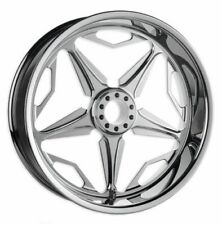 SpeedStar Chrome Wheel Set Revtech Performance Machine 16 x 5  19 x 2.15 Harley