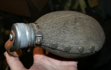 GENUINE SWEDISH ARMY M39 WATER BOTTLE WITH FELT COVER 1.2 PINT CAPACITY