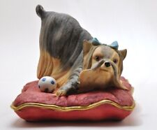 Yorkshire Terrior Dog Pillow Figure By The Welsh Porcelain Company