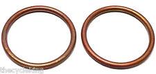 Honda VTX1300 C/R/S/T VTX1800 C/F/N/R/S/T copper exhaust header/doughnut gaskets