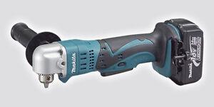 Makita DDA350Z 18V Cordless LXT 10mm Angle Drill Body Only + 1 BL1830 Battery