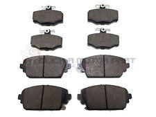 Para Nissan primera P12 2.2 dCi 2002-2007 Discos de freno delanteras y traseras y almohadillas Set