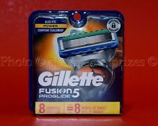 Gillette Fusion5 Proglide  8 Cartridges  FITS POWER ~ Men Fusion Razor 5 Blade