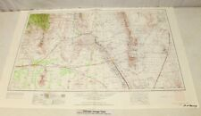 """1955 Las Cruces, New Mexico; Texas  Topographic Geological Map / 32"""" x 22"""" Size"""