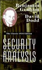 Security Analysis: The Classic 1934 Edition, GRAHAM