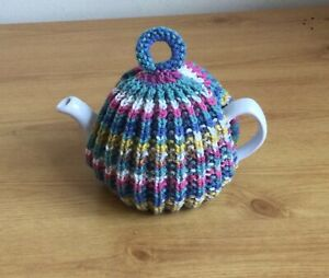Hand Knitted Tea Cosy - 2 cup pot