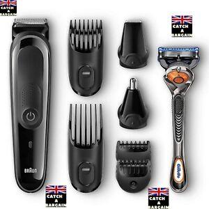 Braun Multi Grooming Kit – 8-in-1 Beard, Face, Nose & Hair Trimming Kit (A668)
