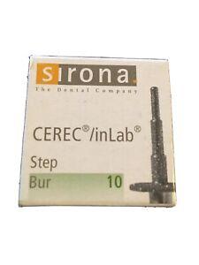 Sirona Cerec/inlab Step Bur 10- 6 Burs