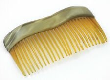 Clarified Horn Hair Comb Early 1800s - Rare Antique