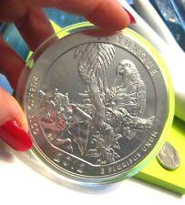 America the Beautiful 5 OZ .999 Silver 2012 El Yunque Natl Forest Puerto Rico