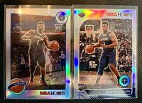 Zion Williamson NBA Hoops Premium Stock Silver Prizm Rookie and Tribute 💎💎
