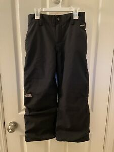 The North Face Black Hyvent Snow Ski Pants Girls Size Large 14-16