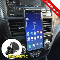 360 Magnetic Car Air Vent Dock Mount Cell Phone Holder For Samsung Galaxy S9 S8