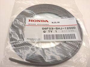 Genuine OEM Honda Front & Rear Lip Spoiler Underbody Molding Tape Strip Gray