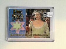 Lord of the Rings Topps memorabilia insert card