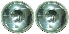 "7"" Round H4 Headlights Spot Beam Semi Sealed for Toyota Landcruiser FJ BJ HJ 40"