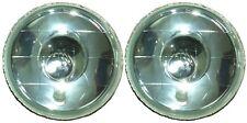 "7"" Round H4 Headlights Spot Beam Semi Sealed for Nissan Patrol GQ Maverick TB TD"