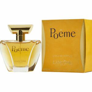 Poeme by Lancome .14 1 1.7 3.4 oz / 4 30 50 100 ml Women Eau de Parfum RARE BOX