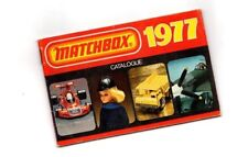 1977 MATCHBOX Catalog: SPEED KINGS,SUPERFAST,YESTERYEAR,GIFT SETS, DieCast's