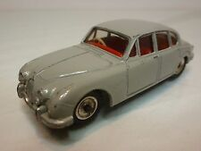 DINKY TOYS 195 JAGUAR 3.4 LITRE - GREY 1:43 - VERY GOOD CONDITION