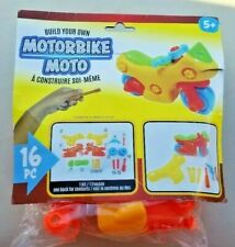 Build Your Own Motorbike 16 pc Toy for Ages 5+