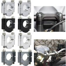 """For 2006-2010 BMW F800S 7/8"""" 22mm CNC Billet HandleBar Bar Mount Clamp Riser"""
